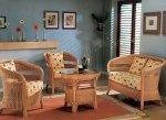Плетеная мебель для души
