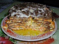 Печень тортиком